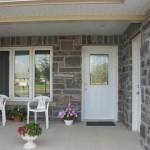 Elite Blue Granite Northern Collection house front entrance
