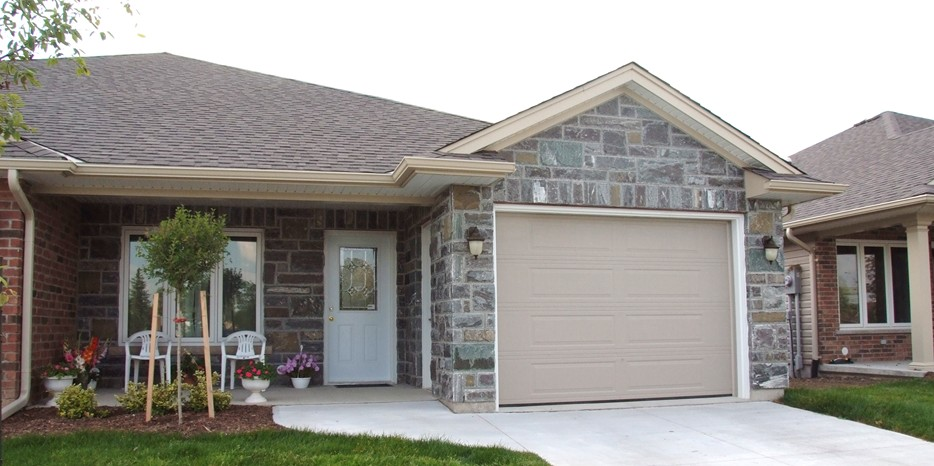 Elite Blue Granite Northern Collection House Front