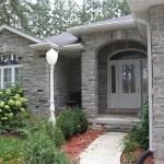 Elite Blue Granite Tumbled Ledgerock house front