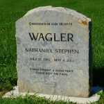 Weatheredge Limestone Polished Headstone