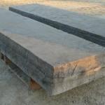 Brown Limestone Sawn & Textured Steps