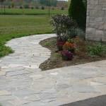 charcoal limestone walk random flagstone