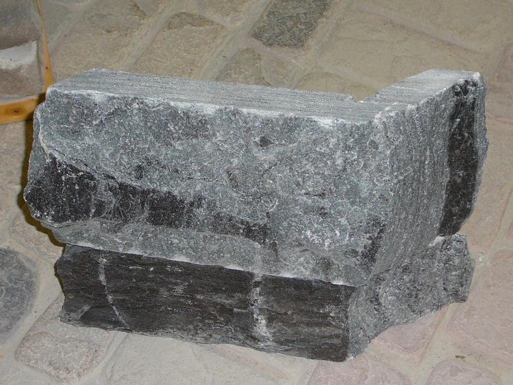 Elite Blue Granite Custom Sawn 45 Degree Corners
