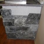 elite blue granite during build bbq outdoor living