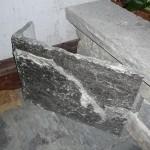 elite blue granite extremely large squared corner