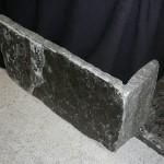 elite blue granite extremely large squared veneer corner