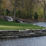 elite blue granite golf course wallstone