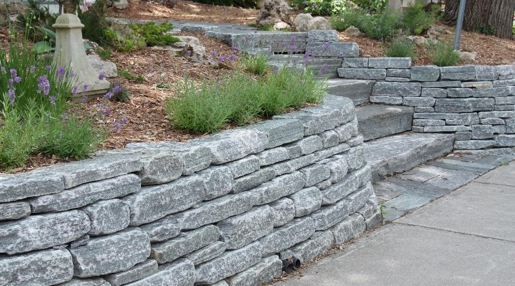 elite blue granite landscaping
