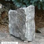 elite blue granite random veneer corner