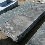 Elite Blue Granite Sawn & Textured, Rock Faced Edge