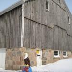 feildstone barn foundation
