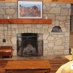 fireplace harvest gold limestone blend tumbled