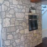 harvest gold limestone tumbled blend kitchen