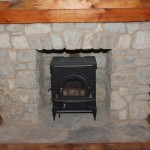 harvest gold limestone tumbled blend small fireplace