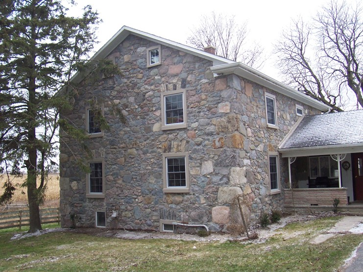 Fieldstone House After Restoration