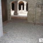 interior stone floor banquet hall elite blue granite tumbled cobbles
