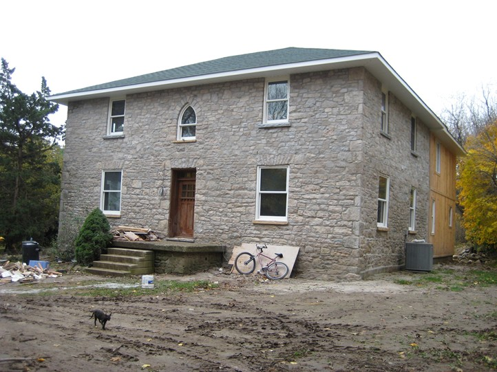 Limestone House After Restoration