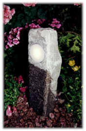low voltage stone pillar