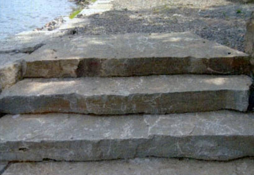 Mocha Limestone Random Steps
