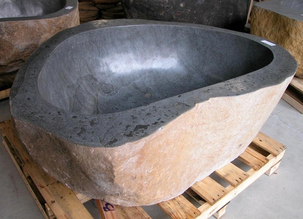natural stone tub