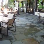 patio bluestone square cut