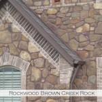 rockwood brown creek rock