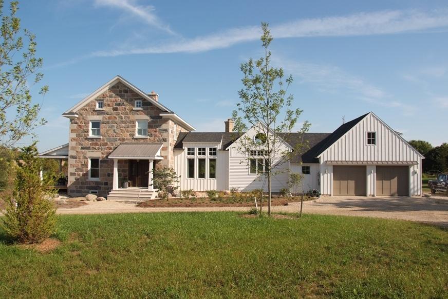 Split Feildstone Squared House