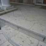 weatheredge limestone bush hammered flag