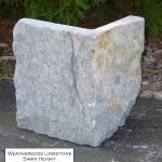 weatheredge limestone sawn height veneer corner