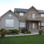 weatheredge limestone tumbled split face ledgerock house addition