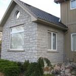 weatheredge limestone tumbled splitface legerock cottage closeup